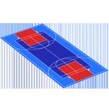 Artificial Grass & Basketball Hoop