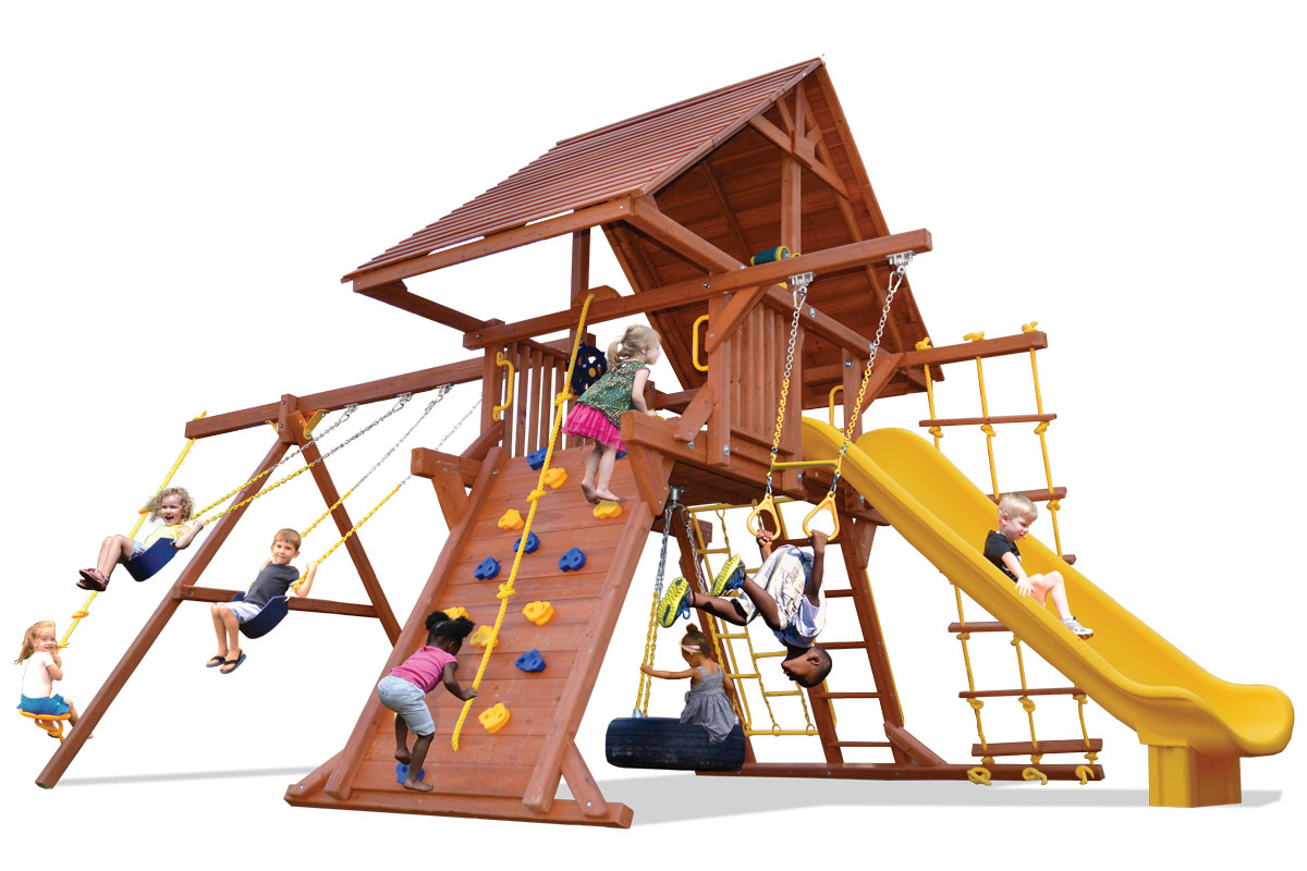 Outdoor Playsets & Rubber Mulch