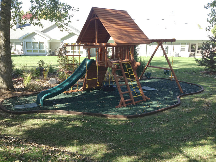 Artificial Turf Grass Playground