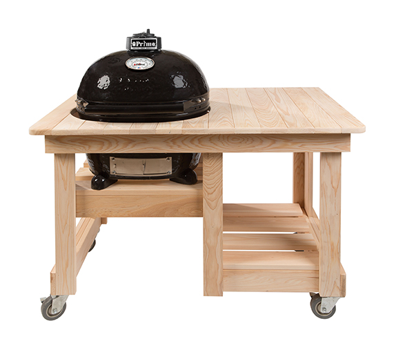 Wonderful Countertop Cypress Grill Table
