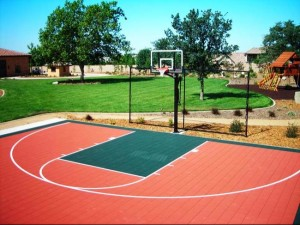 Multi Game Court Madison Wi Rubber Mulch Flex Court Playn Wisconsin