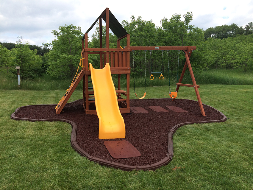 Artificial Turf Fake Grass Safe Rubber Mulch Playn Wisconsin